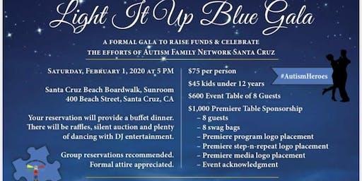 Light It Up Blue Gala - Autism Family Network Santa Cruz Presents