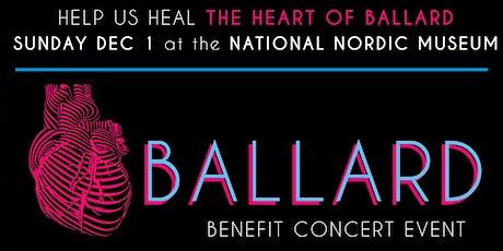 Heart of Ballard Benefit Concert tickets