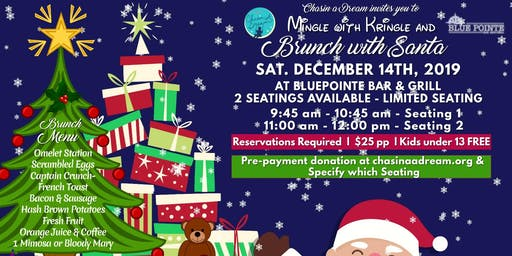Mingle With Kringle and Brunch With Santa