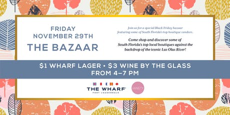 The Bazaar Boutique Marketplace with Vanety PR tickets