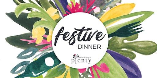 Plenty Festive Dinner 2019