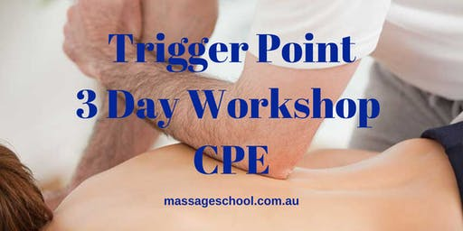 Trigger Point Therapy - 3 Day CPE Event (21hrs)