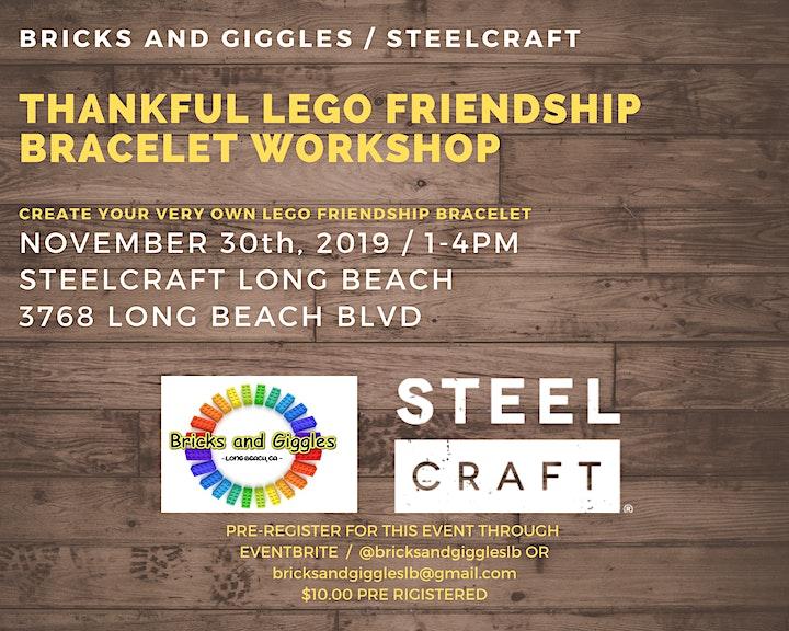 LEGO Friendship Bracelet Workshop image