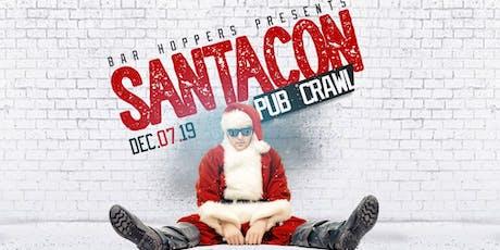 Santacon Pub Crawl benefitting DFW's Santas Helper's Toy Drive tickets