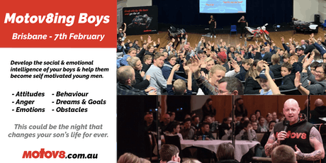 Motov8ing Boys - Brisbane  tickets