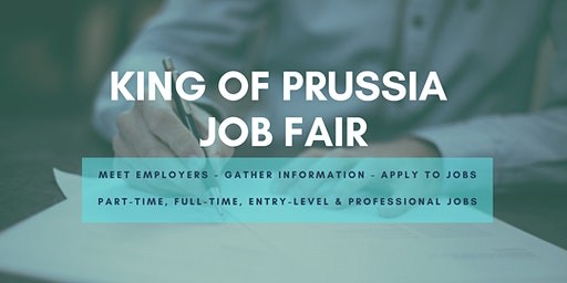 King of Prussia Job Fair - April 14, 2020 - Career Fair