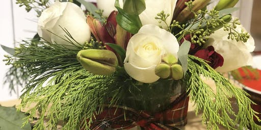 Holiday Floral Design Class at Drayton Hall