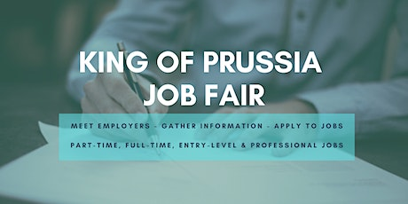 King of Prussia Job Fair - October 6, 2020 - Career Fair tickets