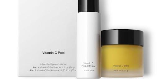 Let It Glo Vitamin-C Peel Event