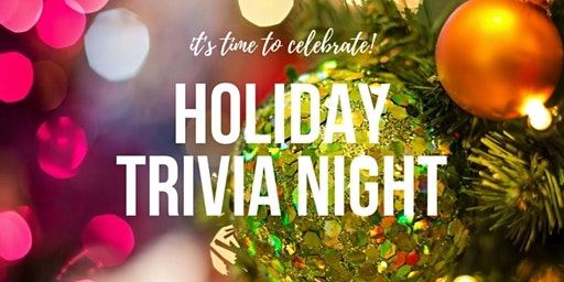 Holiday Trivia Night hosted by the Junior Women's Club