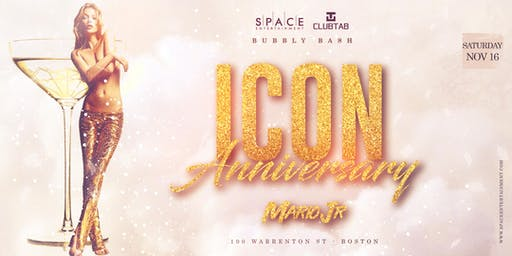 Bubbly Bash- ICON Anniversary