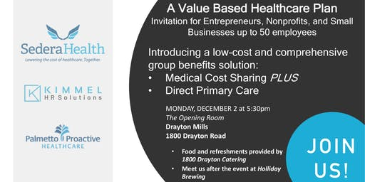 A Value Based Healthcare Plan