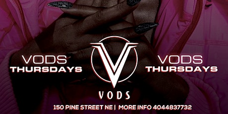 THURSDAYS @ VODS | EVERYONE FREE tickets