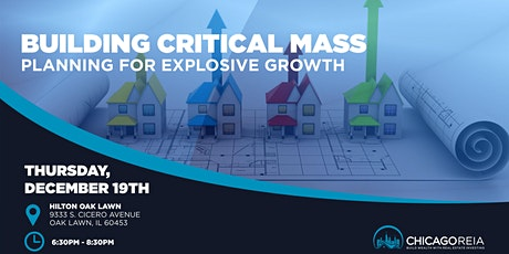 Building Critical Mass - Planning for Explosive Growth tickets