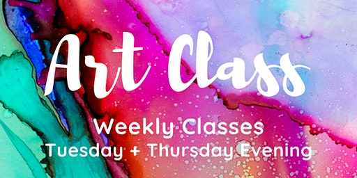 Art Classes with Artist Maryanne Katsidis