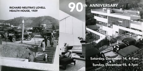 90 Year Anniversary of the Lovell Health House tickets