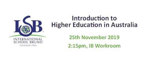 ISB: Introduction to Higher Education in Australia