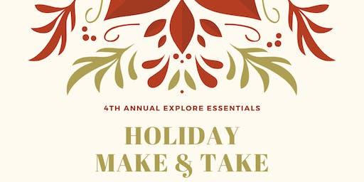 Explore Essentials Holiday Make & Take