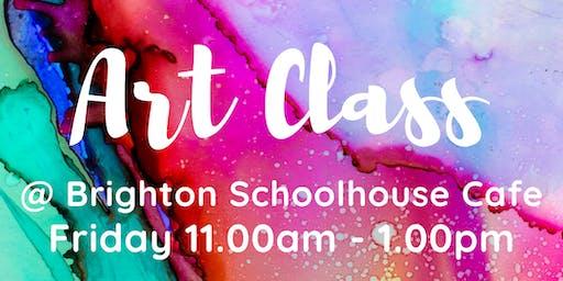 Art Classes with Artist Maryanne Katsidis
