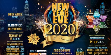 Ikhor's Annual Bollywood New Year Party 2020 tickets