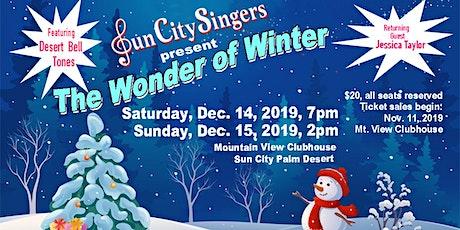 The Wonder of Winter tickets