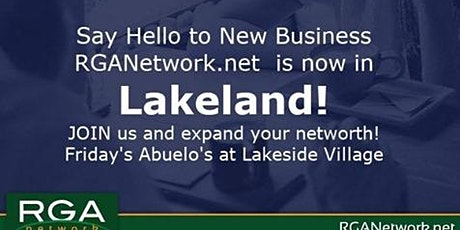 Lakeland Friday Business Introductions Networking Lunch tickets