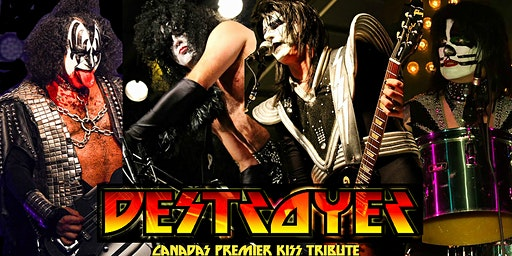 Destroyer Tribute to Kiss with the Baz Littlerock Band!