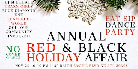 ANNUAL RED AND BLACK HOLIDAY AFFAIR TOY DRIVE - LURE SUNDAY DANCE PARTY tickets
