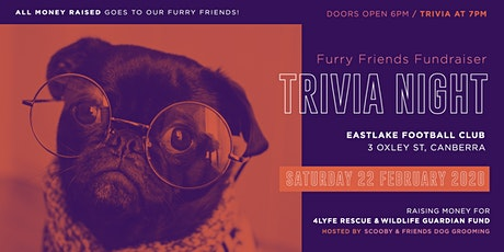 Furry Friends Fundraiser  Trivia Night (Tickets purchased in tables of 10) tickets
