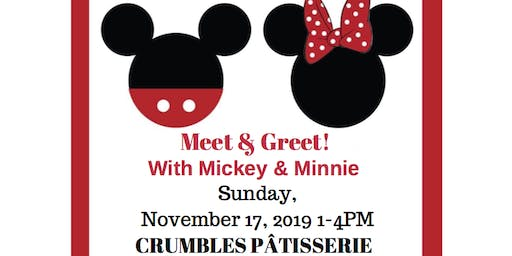 Meet & Greet with Mickey and Minnie - Cause for the Children's Hospital