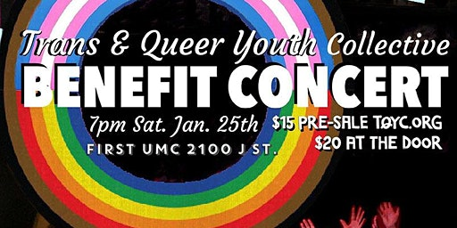 Benefit Concert for Trans Queer Youth Collective