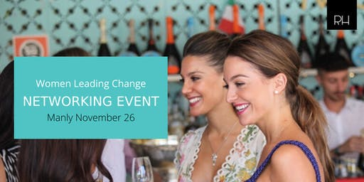 Women Leading Change Manly Networking Event
