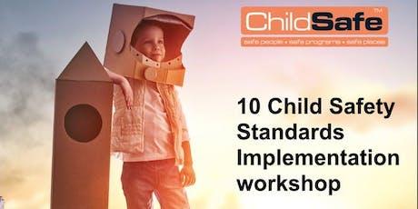 10 National ChildSafe Standards Implementation Workshop tickets