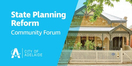 State Planning Reform Community Forum tickets