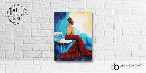 Sip & Paint Night : Lady In Red Dress
