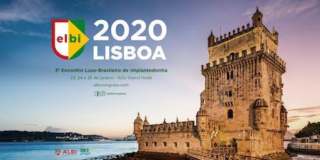 ELBI - Encontro Luso-Brasileiro de Implantologia bilhetes