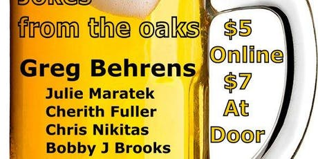 Jokes From the Oaks, Nov 21 Show tickets