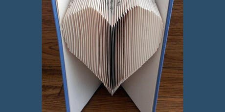 Book folding craft workshop tickets