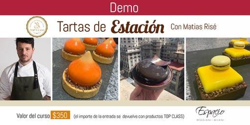 Demo con MATIAS RISE: TARTAS DE ESTACION - Turno Tarde