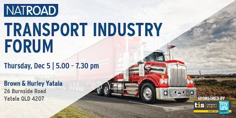 NatRoad Transport Industry Forum, Yatala tickets