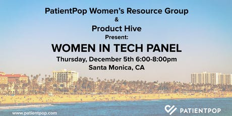 PatientPop & Product Hive Present: Women in Tech Panel tickets
