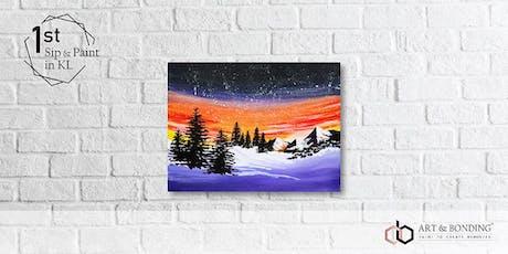 Sip & Paint Night : Winter Night tickets