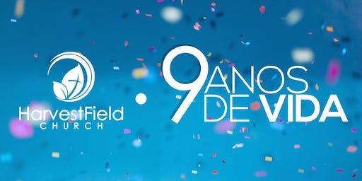 9.º Aniversário da Harvest Field Church