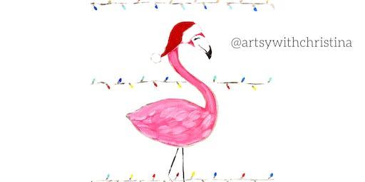 Festive Flamingo @ Your Pie