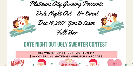 PCG Presents Date Night out Ugly Sweater Contest