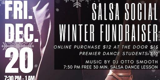 Salsa Dance Party Winter Fundraiser For Balmir Dance Studio