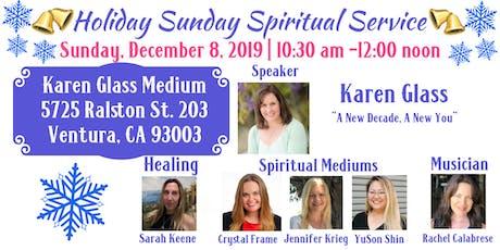 Holiday Sunday Spiritual Service  tickets