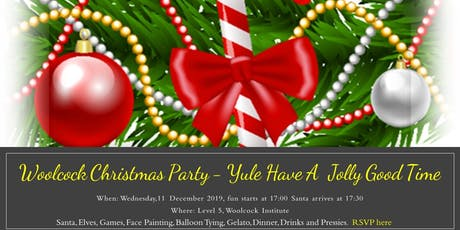 Woolcock Christmas Party tickets