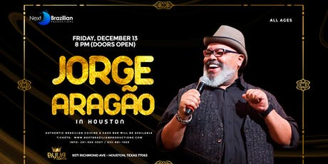 Jorge Aragão Houston tickets