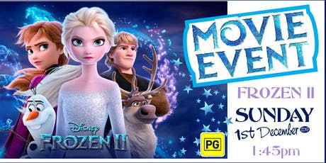 Frozen II Movie Event tickets
